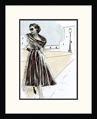 Vintage Dame 2 Framed Art, 18