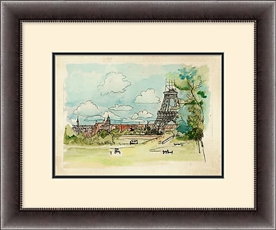 Paris Scene 1 Framed Art, 19
