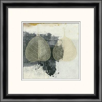 Layered Leaves 1 Framed Art, 19