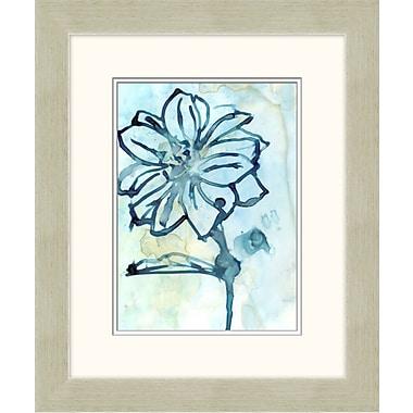 Blue Flowers 2 Framed Art, 20