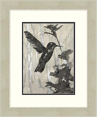 Humming Bird Garden 2 Framed Art, 20