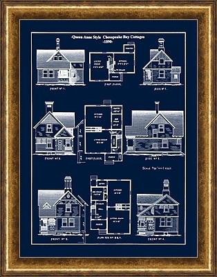 Queen Anne Cottages 1 Framed Art, 22