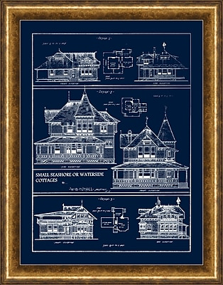 Queen Anne Cottages 2 Framed Art, 22