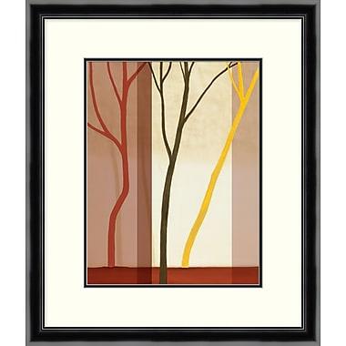 Trees in Forest 1 Framed Art, 23