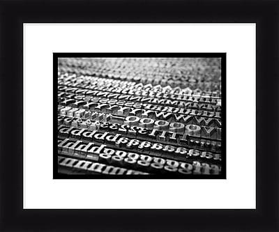 Type Keys 3 Framed Art, 24