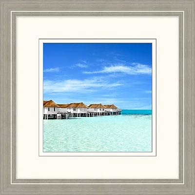 Maldives 1 Framed Art, 24