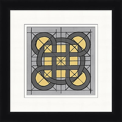 Charcoal Lines 2 Framed Art, 24