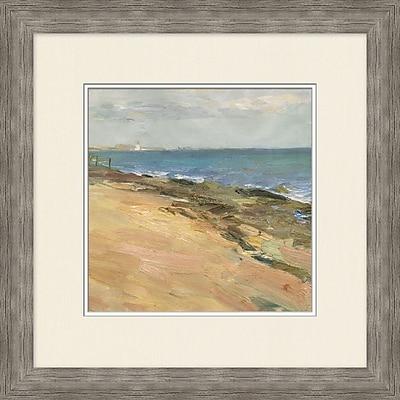 Coastline 1 Framed Art, 24