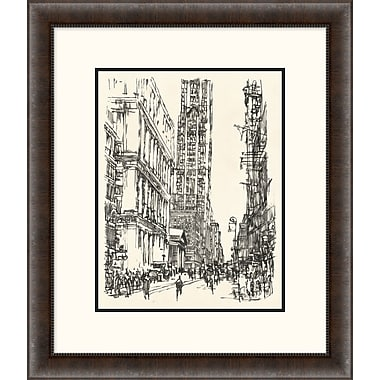 New York Sketch 1 Framed Art, 24