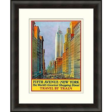 Travel By Train Framed Art, 27