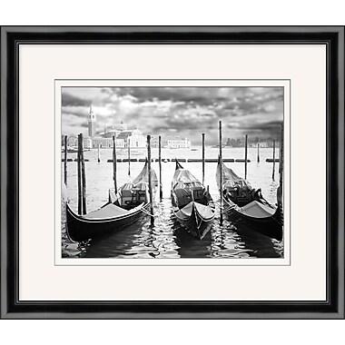 Venice Boats 1 Framed Art, 27
