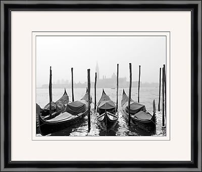 Venice Boats 2 Framed Art, 27