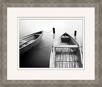 Docked Boats 1 Framed Art, 28