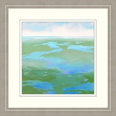 Spring Marsh 1 Framed Art, 28