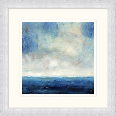 Navy Ocean Horizon 2 Framed Art, 28
