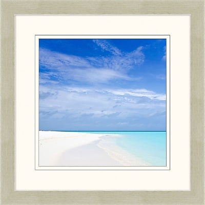 The Clear Blue 1 Framed Art, 28