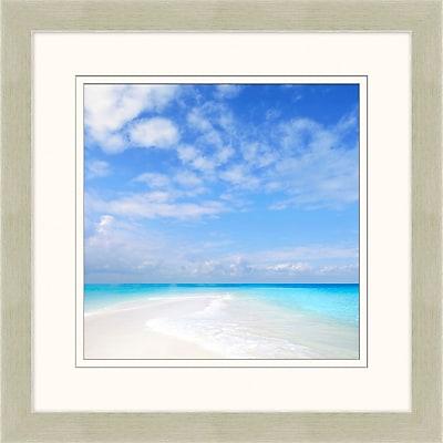 The Clear Blue 2 Framed Art, 28