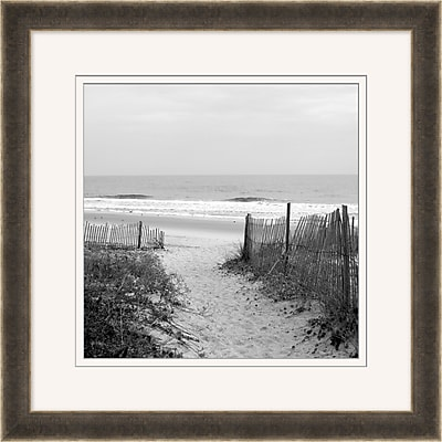 Beach Dunes 1 Framed Art, 28