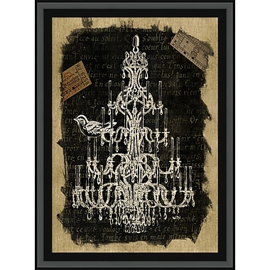 Chandelier 2 Framed Art, 29