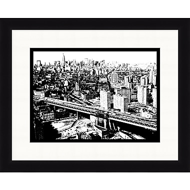 New York City Skyline 1 Framed Art, 32
