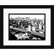 """New York City Skyline Framed Art, 32"""" x 26"""""""