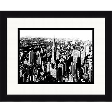 New York City Skyline 2 Framed Art, 32
