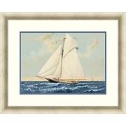 "Sailing 1 Framed Art, 32"" x 26"""