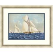 "Sailing 2 Framed Art, 32"" x 26"""