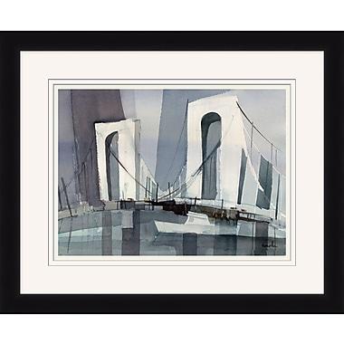 Brooklyn Bridge 1 Framed Art, 34
