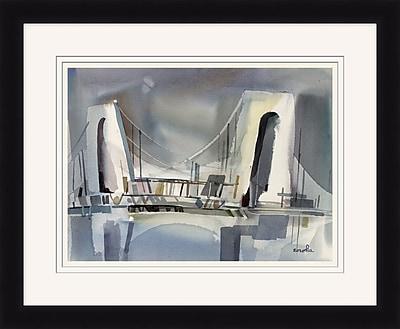 Brooklyn Bridge 2 Framed Art, 34