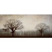 """Trees Apart Canvas Art, 40"""" x 18"""""""