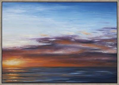 Santa Maria Sunset 2 Framed Art, 41