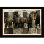 "Horses Art, 41"" x 29"""