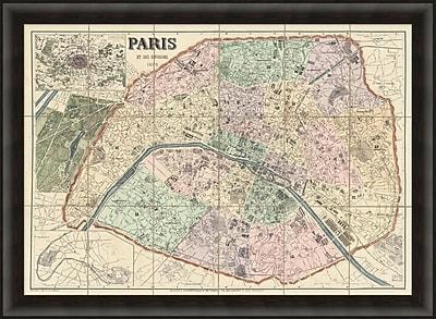 Environs of Paris Framed Art, 45