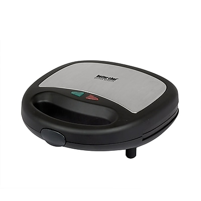 Better Chef® Panini/Contact Grill, Black/Stainless Steel