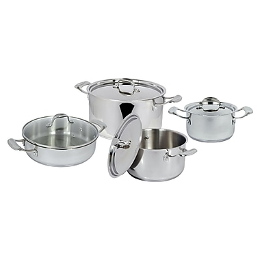 Better Chef® 8-Piece Stainless Steel Cookware Set