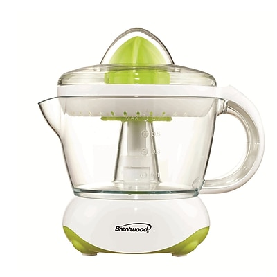 Brentwood® 25 W 700 ml 2-Way Motor Direction Citrus Squeezer/Juicer; White
