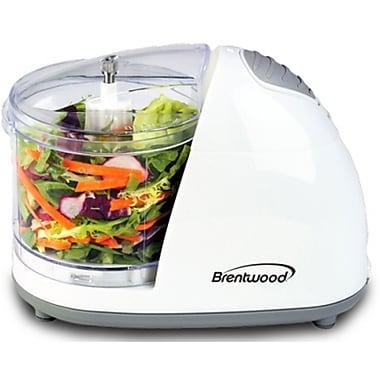 Brentwood® 50 W Mini Food Chopper, White