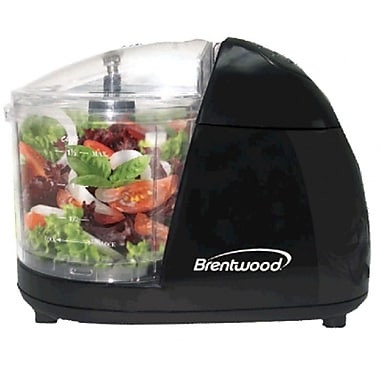 Brentwood® 50 W Mini Food Chopper, Black