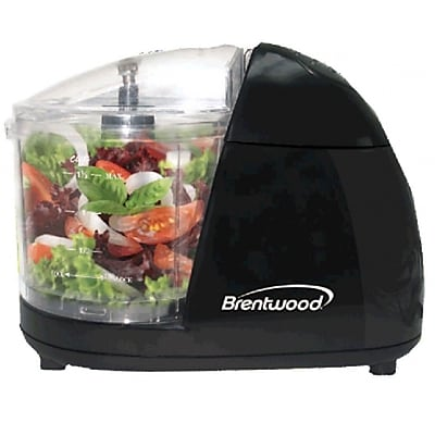 Brentwood® 50 W Mini Food Chopper; Black