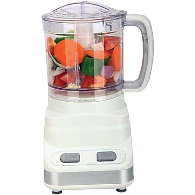 Brentwood® 200 W 3-Cup/24 Oz. Food Processor, White