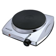 Brentwood® 1000 W Electric Single Hotplate, Chrome