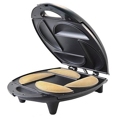 Brentwood® 1400 W 4-Portion Empanada Maker, Black