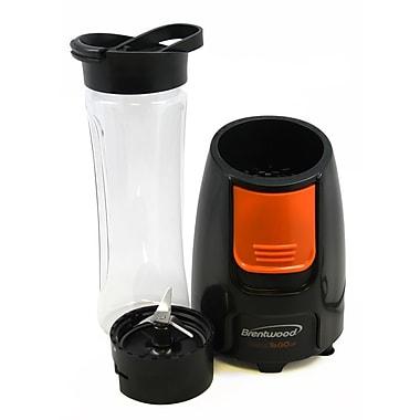 Brentwood® Blend-To-Go 300 W Personal Blender, Black/Orange