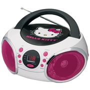 Hello Kitty®-Portable Stereo CD Boombox With AM/FM Radio Speaker