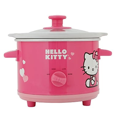 Hello Kitty® 1.5 qt. Ceramic Slow Cooker, Pink
