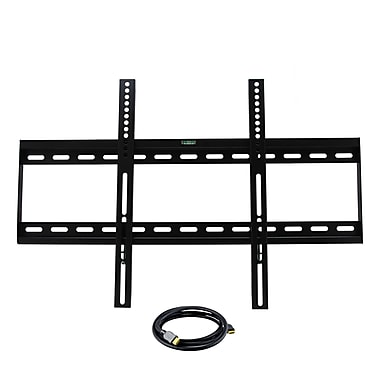 MegaMounts BL1600USB Wall Mount With HDMI Cable For 32