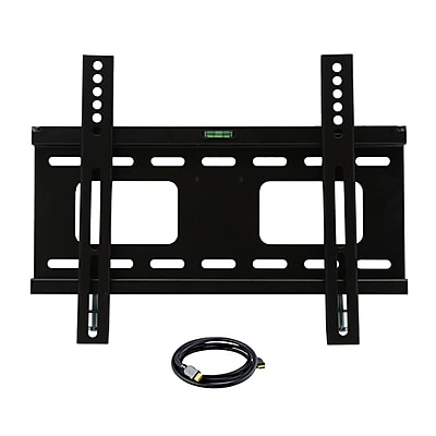 MegaMounts AL1400USB Wall Mount With HDMI Cable For 23