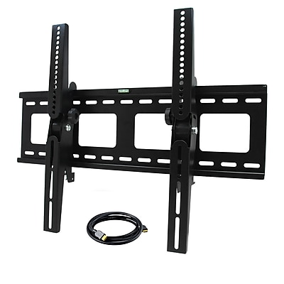 MegaMounts STM3255USB Tilt Wall Mount With HDMI Cable For 32