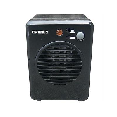 Optimus H-7800-Portable Mini Ceramic Heater, Black